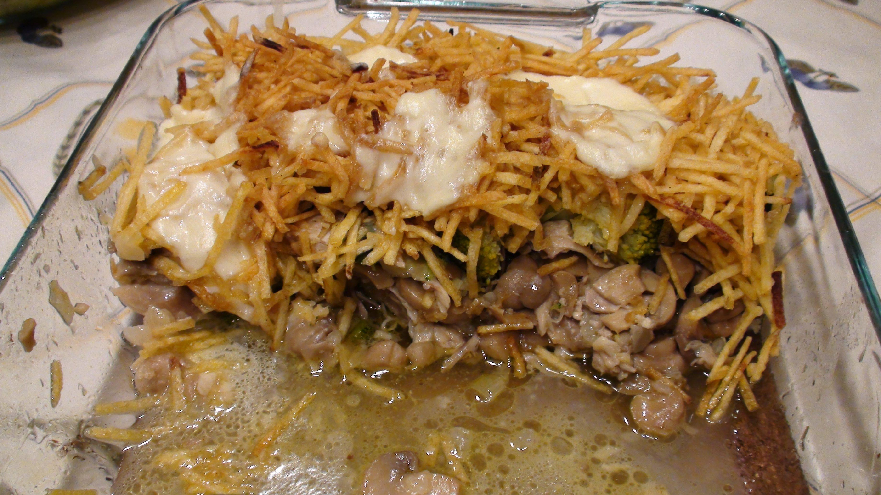 Poulet au four recettes chez moi - Que faire avec des reste de poulet ...